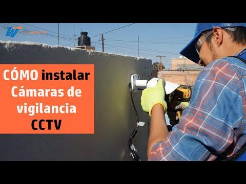 Cómo instalar Cámaras de Seguridad CCTV Tutorial