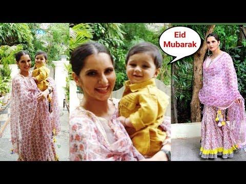 Sania Mirza And Shoaib Malik Son Izhaan Celebrates His First Bakri Eid 2019