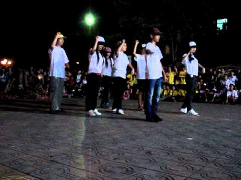 9a2 nhảy Tutting, Hội trại THCS Trần Phú - Vũng Tàu, 24/3/2012