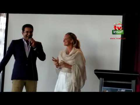 Wasim Akram And Shaniera Wasim In Shaukat Khanam Fund Raising Event In Melbourne April 22nd 2018