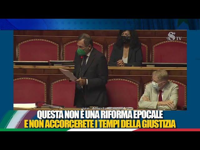 L'intervento del Sen. Balboni sulla delega al Governo per l'efficienza del processo civile