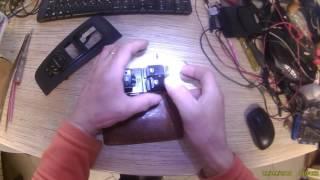 Ремонт кнопки склопідіймача