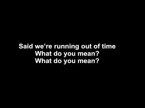 justin bieber - what do you mean - LYRICS
