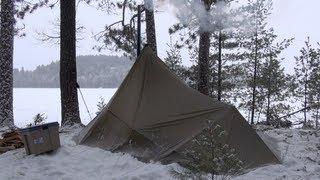 Winter trekking hot tent (Part2/3)