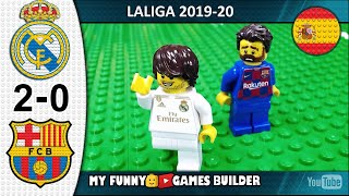 Real Madrid vs Barcelona 2 0 El Clasico LaLiga 2019 20 Goal Highlights ElClasico Lego Football