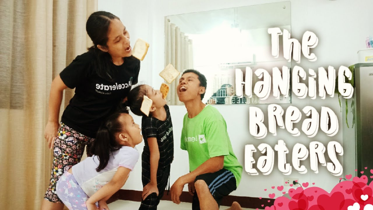 The Hanging Bread Eaters | Family Home Evening Game | Family Fun Games