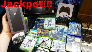 JACKPOT!!! Gamestop Dumpster Dive Night #721
