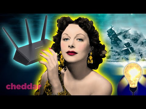 The Hollywood Actress Who Helped Invent WiFi - The Lightbulb Moment