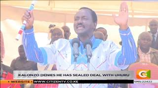 Kalonzo denies he has sealed deal with Uhuru