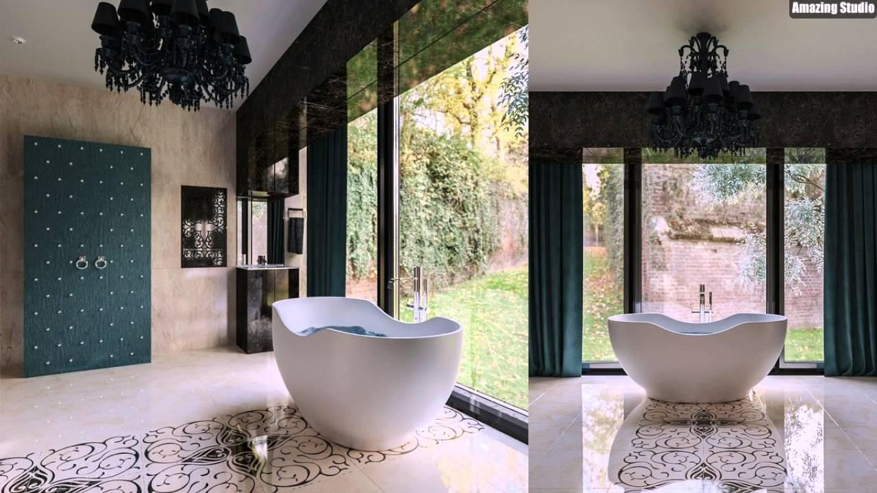 einzigartige badewanne formen - youtube, Badezimmer dekoo