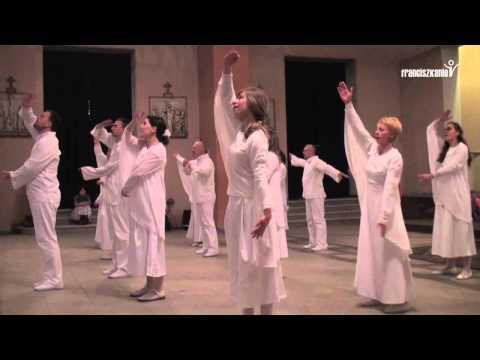 Wielkanoc 2011 u franciszkanów - tańce paschalne