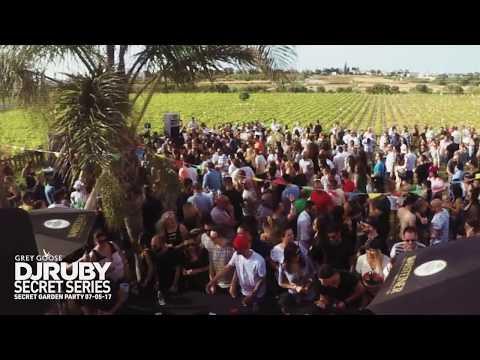 DJ Ruby Live Video Set at Secret Garden Party, Attard Malta 07-05-17