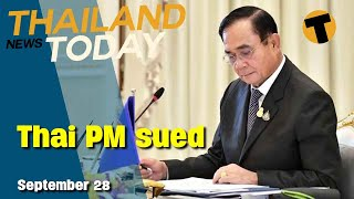 Thailand News Today | Thai PM sued, 4 phase Reopening plan | September 28
