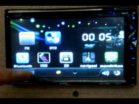 Head unit TV mobil Audio Link