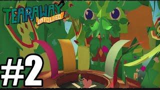 Tearaway Unfolded - Gameplay Walkthrough Part 2 - PS4 - 60 FPS [ HD ]