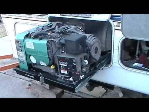 wiring diagram onan genset msd generator in 5th wheel trailer #1 - youtube