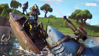 FORTNITE-New aquatic skins and the best hang glider ever made.