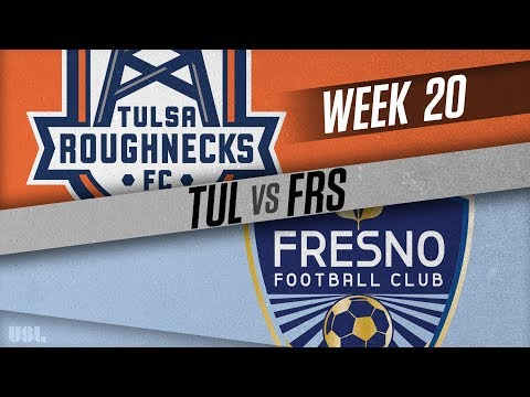 Tulsa Roughnecks FC vs Fresno FC: July 28, 2018
