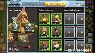 clash of clans season challenge new mode