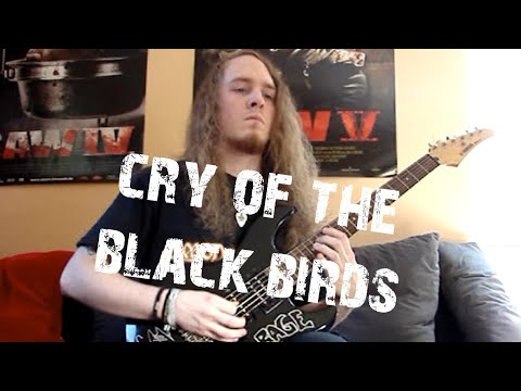 Amon Amarth - Cry of the Black Birds (HQ Guitar Cover)