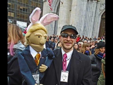Easter Day Parade interview with Donald Trump in New York filmed on Sunday March 27, 2016