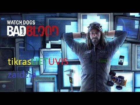 Watch Dogs bad blood 1 misija lietuviskai