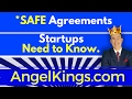 Startup Docs: MUST-Know SAFE Agreement vs. Convertible Notes (Download)
