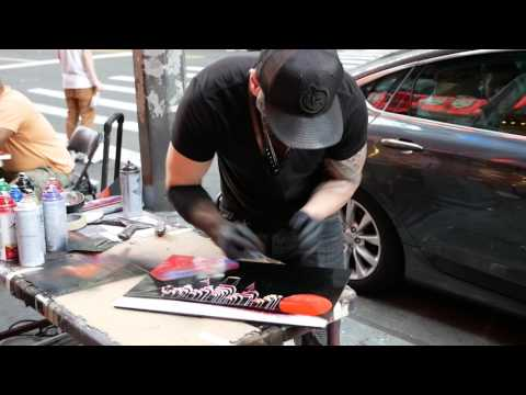 Spray Paint in NYC