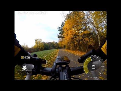 Autumnal commute via the scenic route