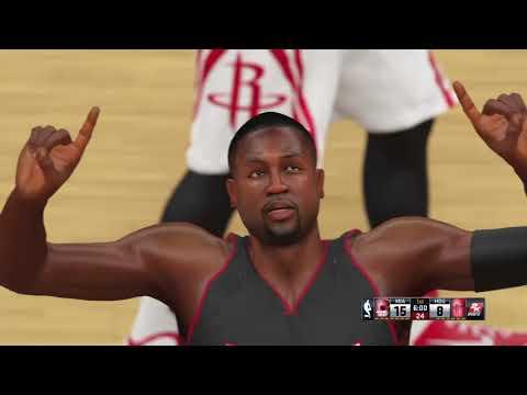 Rockets @ Heat 1st Half