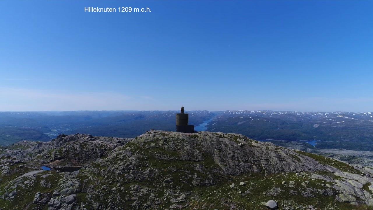 Hiking Sirdal: Sirdal Høyfjellshotell - Hilleknuten