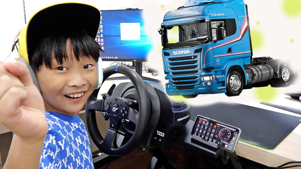 Truck Game Play with Car Toy Assembly Activity Pretend Play