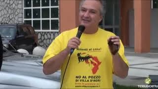"""Corteo """"ATTENTI al CANE"""" - Intervento di Ulderico Pesce - pt1"""