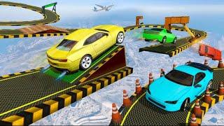 Crazy Car stunt Driving Games -New Car Games 2021 gameplay screenshot 5