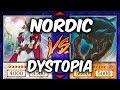Yugioh NORDICS vs DYSTOPIA (Yu-gi-oh God Card Deck Duel!)