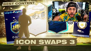 ICON SWAPS 3 PACKS!! 97 TOTS IN PLAYER PICKS!! FIFA 21