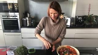 Очень вкусный и полезный салат для сыроеда