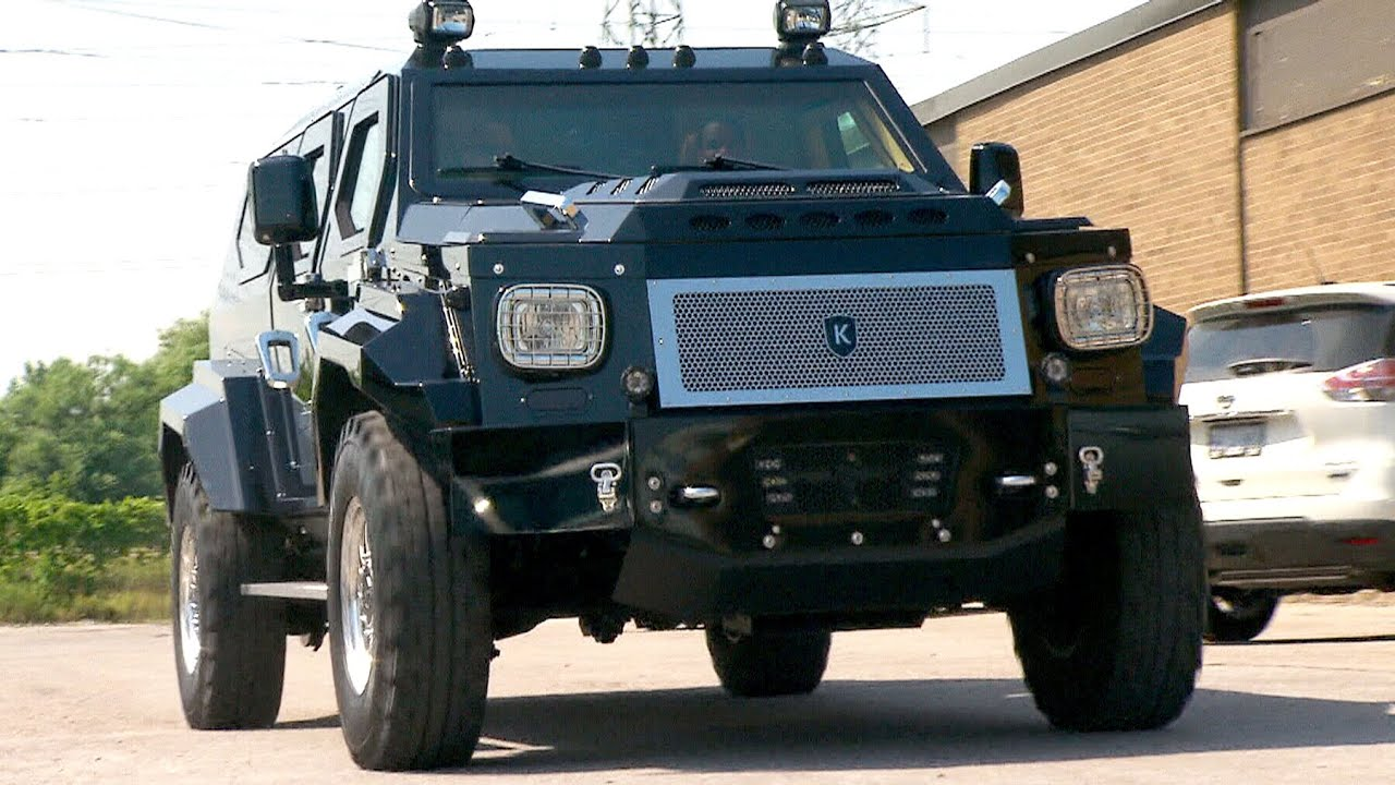 Conquest Knight XV: Monster car making a monster statement - YouTube