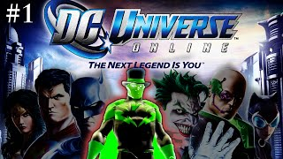 DC Universe Online - First Impressions Review - Gameplay (Part 1)