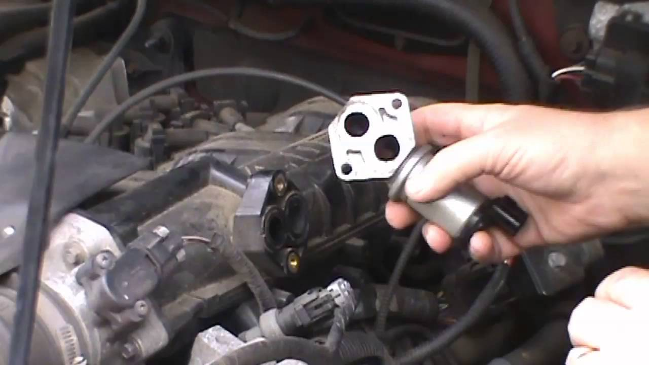 1999 Ford Ranger Idle Air Control Replacement Youtube