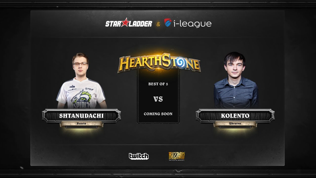 [EN] ShtanUdachi vs Kolento | SL i-League Hearthstone StarSeries Season 3 (26.05.2017)