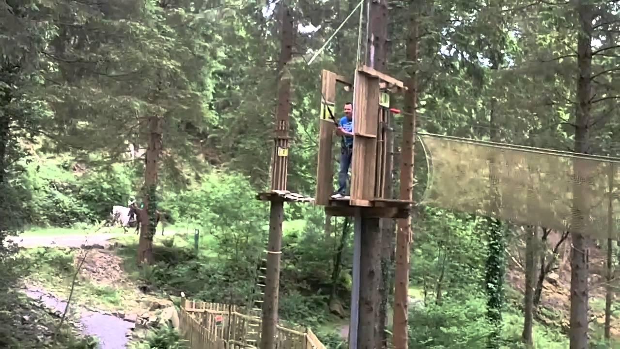 Go Ape Tarzan Swing Jump Youtube
