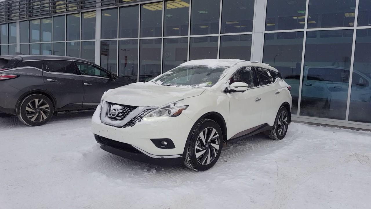 2016 Nissan Murano Platinum Pearl White Sherwood