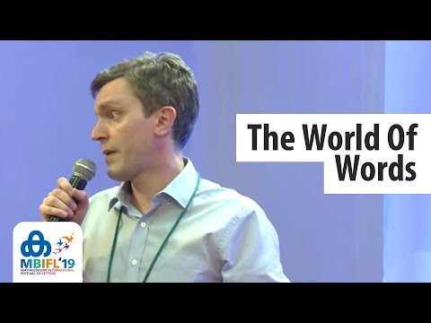 The World Of Words | Mark Forsyth - MBIFL 2019