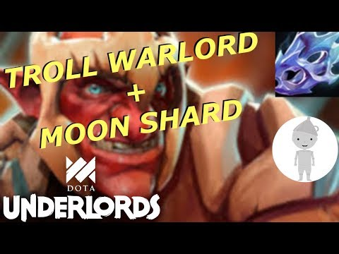 2-star Troll Warlord Does INSANE DAMAGE!!! | Dota Underlords