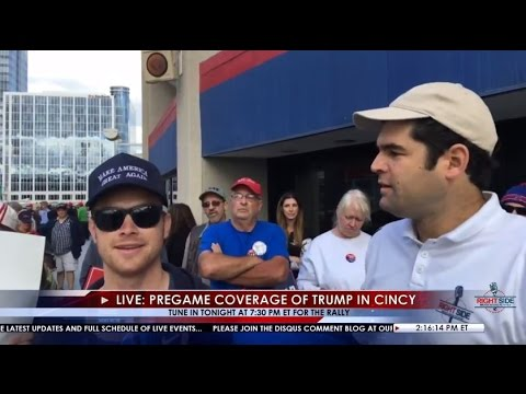 RSBN LIVE: Pregame Coverage of Donald Trump in Cincinnati, OH 10/13/16