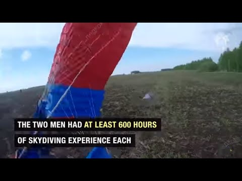 Two skydivers die after colliding mid-air, losing consciousness