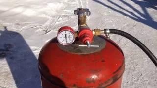видео Кровельная горелка газовая и дизельная для кровельных работ