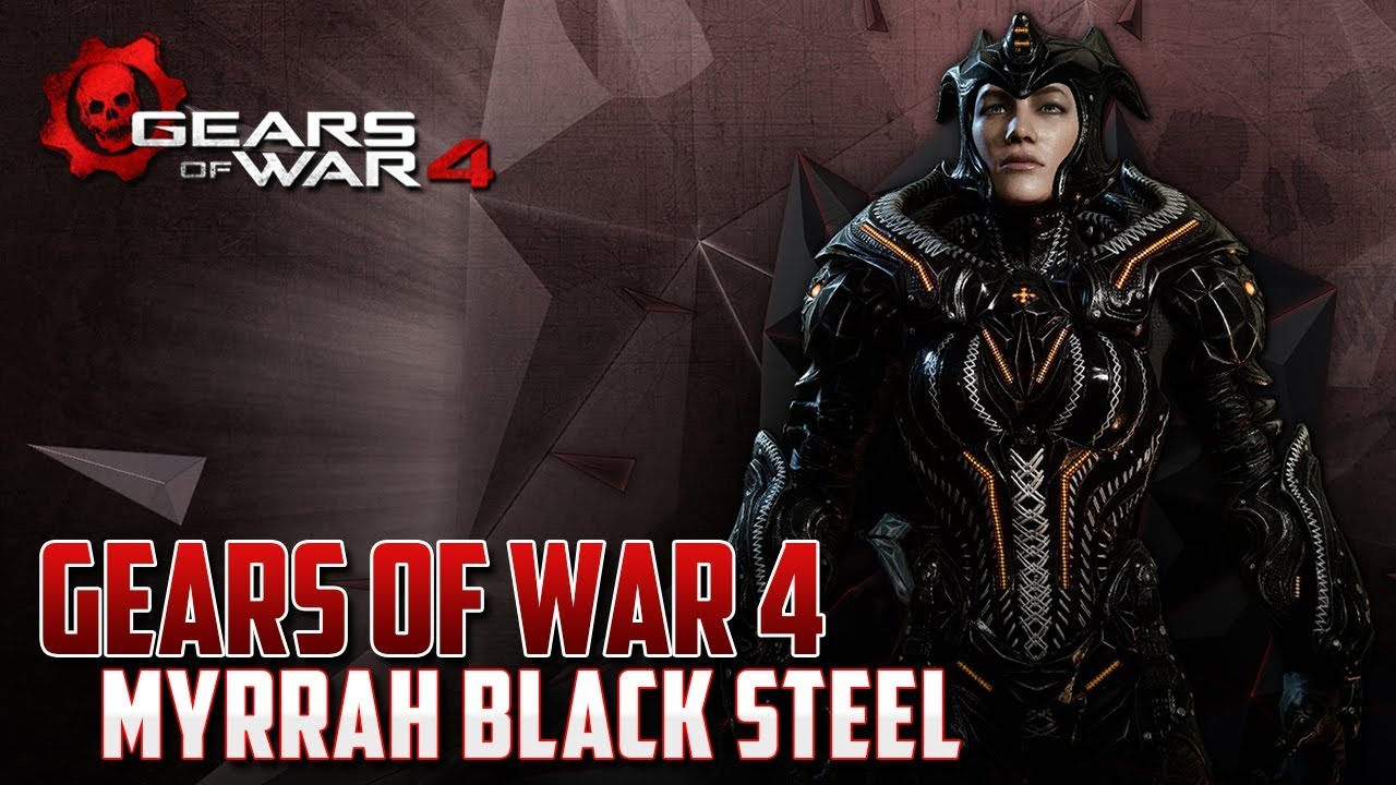 Gears of War 4 | Black Steel Myrrah | Nos abandonan en partida!!