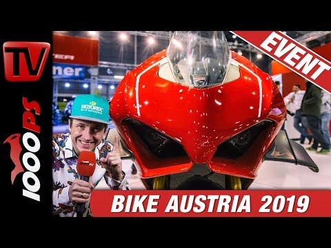 Bike Austria Tulln 2019 - Motorrad Messe - Neuheiten Rundgang mit NastyNils